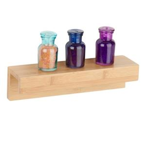 Honey Can Do 11.81-in Bamboo Wall Shelf