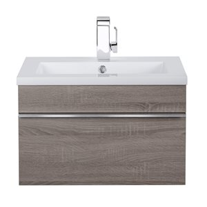 "Cutler Kitchen & Bath Trough Wall Mount Vanity- 24"" - Dorato"