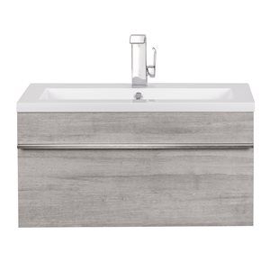 "Cutler Kitchen & Bath Trough Bathroom Vanity - 30"" - Soho"