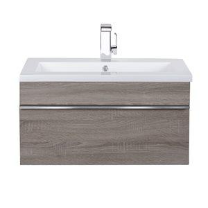 """Cutler Kitchen & Bath Trough Bathroom Vanity - 30"""" - Dorato"""