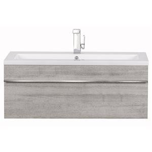 "Cutler Kitchen & Bath Trough Wall Mount Vanity - 42"" - Soho"