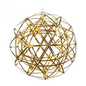 Design Living MN Series Collection 11.8-in Gold Star LED Mini Pendant Light