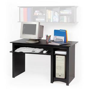 Prepac Contemporary Black Computer Desk