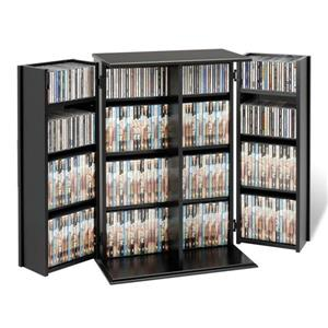 Prepac Furniture Locking Multimedia Storage
