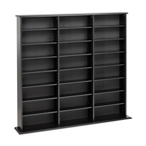 Prepac Furniture Triple Width Wall Multimedia Storage