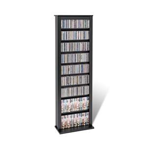 Prepac Furniture Slim Barrister Multimedia Storage