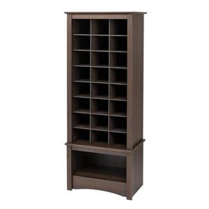 Tall Shoe Cubbie Cabinet