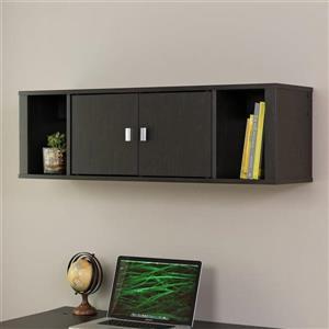 Prepac Designer Washed Ebony Office Cabinet
