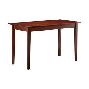 Atlantic Furniture Shaker Writing Desk Walnut