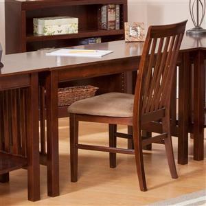 Atlantic Furniture Mission Desk with Drawer Walnut