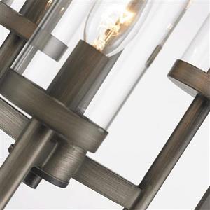 Golden Lighting Smyth Gunmetal Bronze Multi-Light Modern/Contemporary Cylinder Pendant