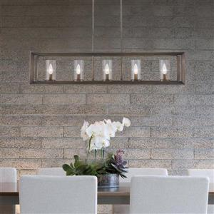 Golden Lighting Smyth Gunmetal Bronze Linear Modern/Contemporary Cylinder Pendant