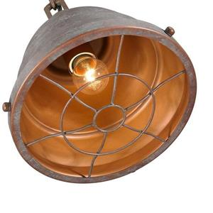 Golden Lighting Bartlett CP Copper Patina Mini Transitional Dome Pendant