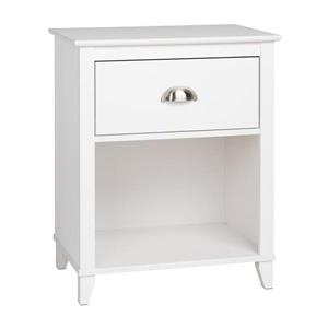 Prepac Yaletown Tall 1-Drawer Nightstand