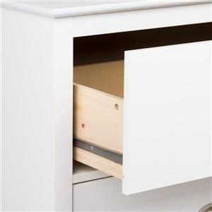 Prepac Yaletown Tall 2-Drawer Nightstand