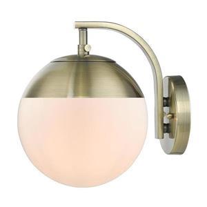 Golden Lighting Dixon 1-Light Wall Sconce - Aged Brass