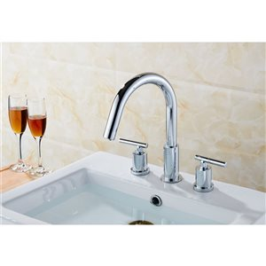 "American Imaginations Undermount Sink Set - 15.25"" - Ceramic - White"