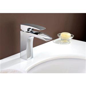 "American Imaginations Undermount Sink Set - 16.5"" - Ceramic - White"