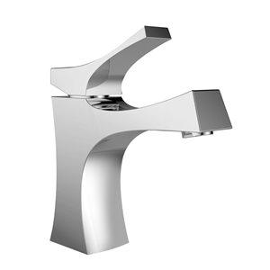 "American Imaginations Above-Counter Vessel Set - 25.5"" - Ceramic - White"