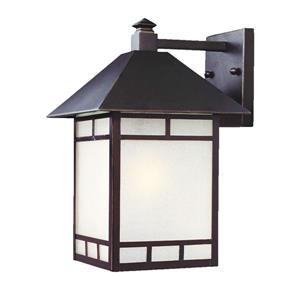 Acclaim Lighting Artisan 15-in Architectural Bronze Outdoor Wall Lantern
