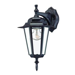 Acclaim Lighting Camelot 14.50-in x 8-in Architectural Bronze Wall Mounted Lantern