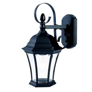 Acclaim Lighting New Orleans 16-in Matte Black Outdoor Wall Lantern