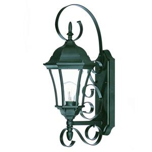 Acclaim Lighting New Orleans 22-in Matte Black Outdoor Wall Lantern
