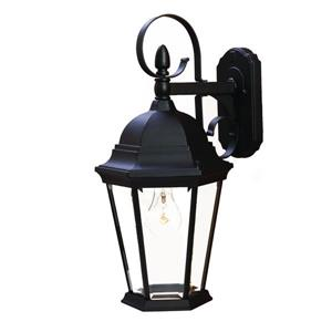 Acclaim Lighting New Orleans 17.75-in Matte Black Outdoor Wall Lantern