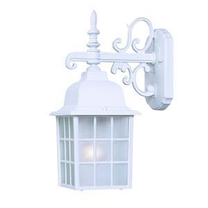 Acclaim Lighting Nautica 15-in Textured White Outdoor Wall Lantern