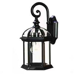 Acclaim Lighting Dover 16-in Matte Black 1-Light Outdoor Wall Lantern