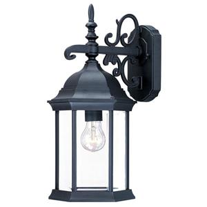 Acclaim Lighting Madison 16.75-in x 7.75-in Matte Black Outdoor Wall-Mount Light