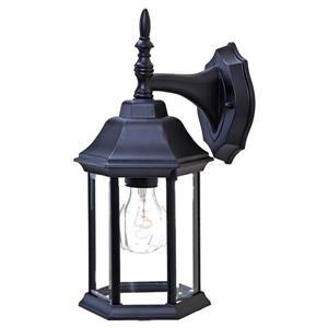 Acclaim Lighting Craftsman 2 13-in Matte Black 1-Light Outdoor Wall Lantern