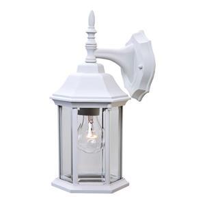 Acclaim Lighting Craftsman 15.5-in White 1-Light Outdoor Wall Lantern