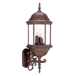 Acclaim Lighting Madison 26.00-in x 9.00-in Burled Walnut Outdoor Wall-Mount Light
