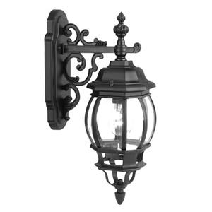 Acclaim Lighting Chateau Matte Black 1-Light Downward Mounted Outdoor Wall Lantern