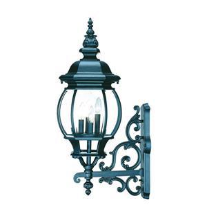 Acclaim Lighting Chateau Matte Black 4-Light Outdoor Wall Lantern