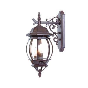 Acclaim Lighting Chateau Burled Walnut 3-Light Downward Mounted Outdoor Wall Lantern