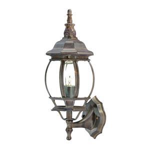 Acclaim Lighting Chateau Burled Walnut 1-Light Upward Mounted Exterior Wall Lantern