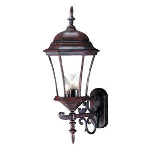 Acclaim Lighting Bryn Mawr 24-in x 9.25-in Burled Walnut Wall Mounted Lantern