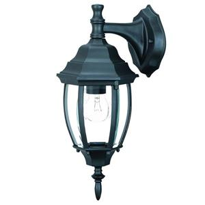 Acclaim Lighting Wexford 15.5-in Matte Black Outdoor Wall Lantern