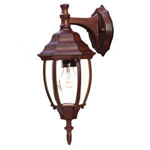 Acclaim Lighting Wexford 15.5-in Burled Walnet Outdoor Wall Lantern