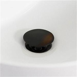 American Imaginations 20.75-in White Ceramic Undermount Sink Set