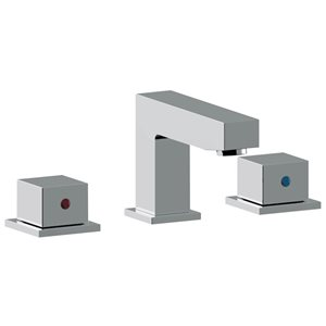 American Imaginations 15.25-in W Round Undermount Sink Set With 3 Hole 8-in CTC CUPC Faucet