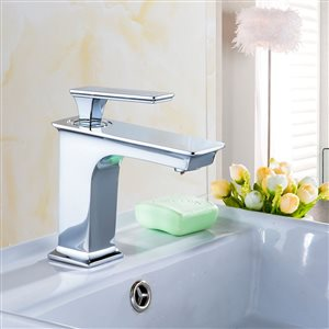 American Imaginations 18.25-in W Rectangle Undermount Sink Set With 1-Hole CUPC Faucet Chrome/Biscuit