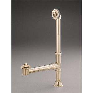 Cheviot Waste/Overflow Lift and Turn - Antique Bronze