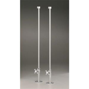Cheviot Water Supply Lines for Rim Mount Fillers - Antique Bronze