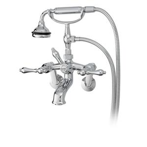 Cheviot Bathtub Filler for Tub or Wall Mount Application - Chrome