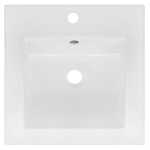 16.5-in Ceramic Vanity Top