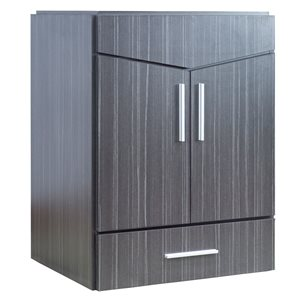 "American Imaginations Zen Vanity Base Set - 23"" x 29.5"" - Gray"