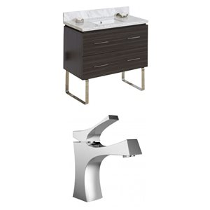 Xena Floor Mount Vanity Set